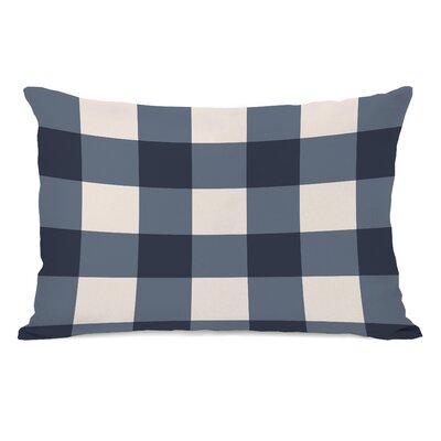 Imrane Lumbar Pillow Color: Blue