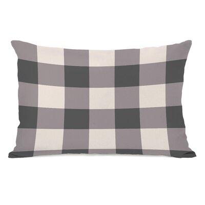 Imrane Lumbar Pillow Color: Gray