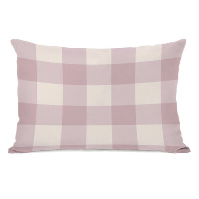 Imrane Lumbar Pillow Color: Pink