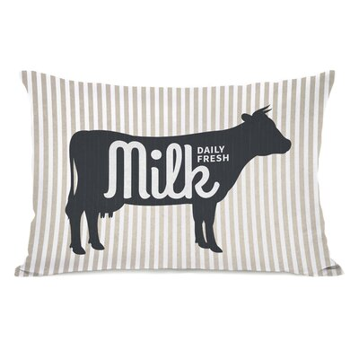Porath Daily Fresh Milk Lumbar Pillow