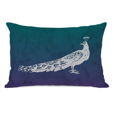 Madilyn Fancy Peacock Lumbar Pillow