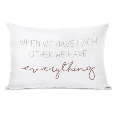 Betterton Have Each Other Lumbar Pillow