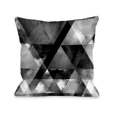 Bezanson Dark and Stormy Throw Pillow Size: 16 x 16