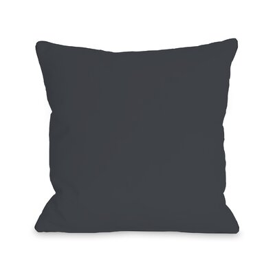 Hampstead Bold Ampersand Throw Pillow Size: 18 x 18