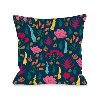 Ossu Outdoor Throw Pillow Size: 18 x 18