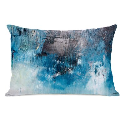 Paulita Ocean Oil Painting Lumbar Pillow