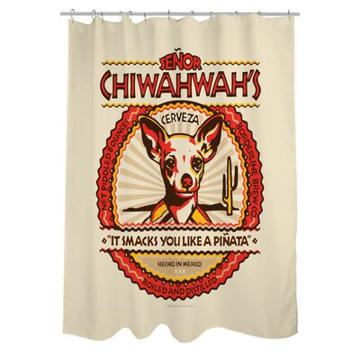 Doggy Decor Senor Chiwahwah Shower Curtain