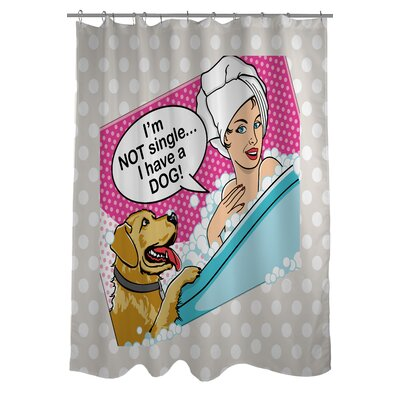 Doggy Decor Not Single Shower Curtain