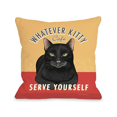 Doggy D�cor Whatever Throw Pillow