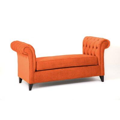 Ginger Alder Bedroom Bench Color: Saffron