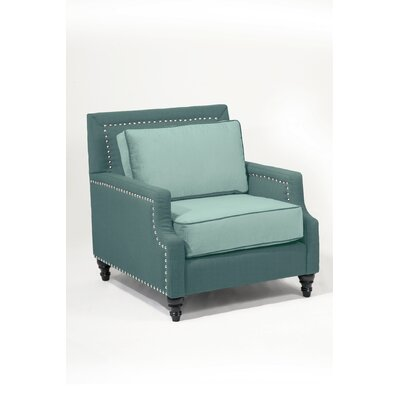 Madrid Armchair Color: Laguna