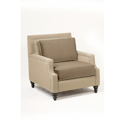 Madrid Armchair Body Fabric: Charcoal