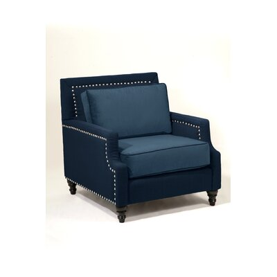 Madrid Armchair Body Fabric: Navy