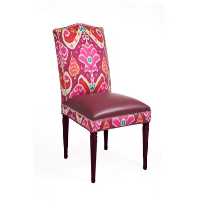 Philippe Side Chair (Set of 2) Color: Sophie / Berry