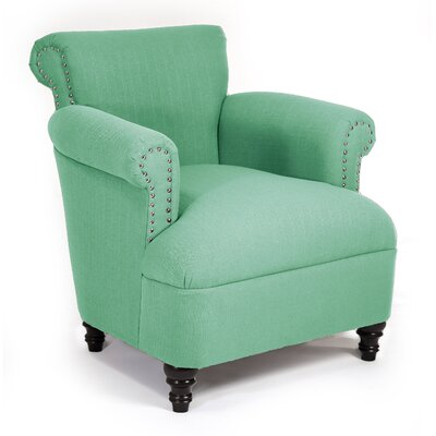 Philippe Armchair Color: Laguna