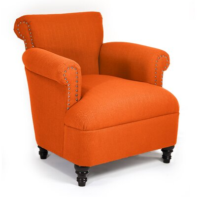 Philippe Arm Chair Color: Saffron