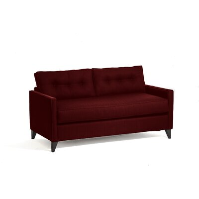 Savannah Sleeper Sofa Upholstery: Berry