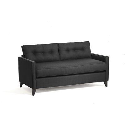 Savannah Sleeper Sofa Upholstery: Charcoal