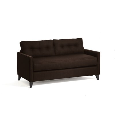 Savannah Sleeper Sofa Upholstery: Chocolate