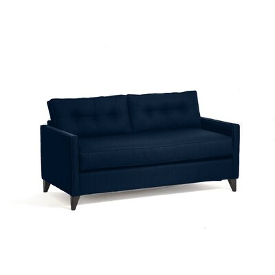 Savannah Sleeper Sofa Upholstery: Navy