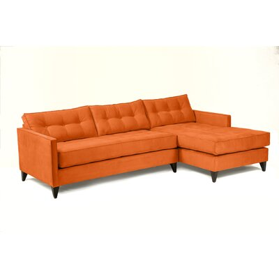 Jason Sectional Upholstery: Saffron