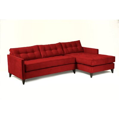 Jason Sectional Body Fabric: Berry