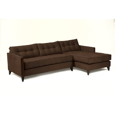 Jason Sectional Upholstery: Chocolate