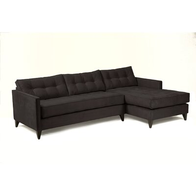 Jason Sectional Upholstery: Charcoal
