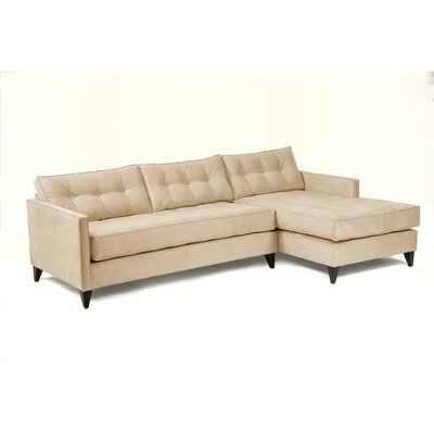 Jason Sectional Upholstery: Cream