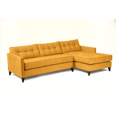 Jason Sectional Upholstery: Mustard