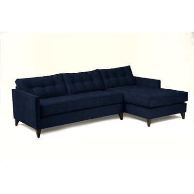 Jason Sectional Upholstery: Navy