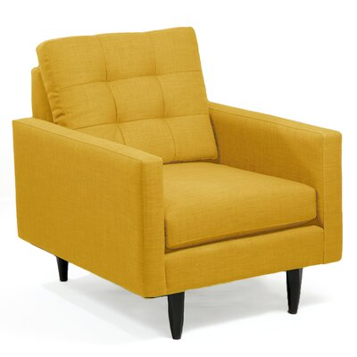 Armchair Upholstery: Mustard