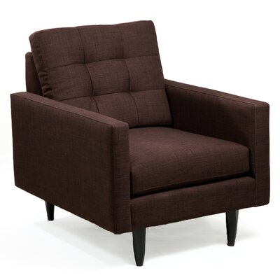 Armchair Upholstery: Chocolate
