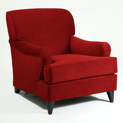 Elsa Armchair Color: Berry