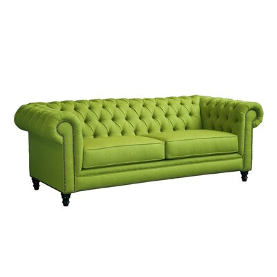 Meagan Chesterfield Sofa Body Fabric: Sweet-Pea