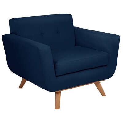 Atomic Armchair Body Fabric: Navy
