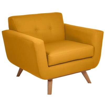 Atomic Armchair Color: Mustard