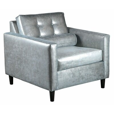 Calvin Guest Chair Color: Silver