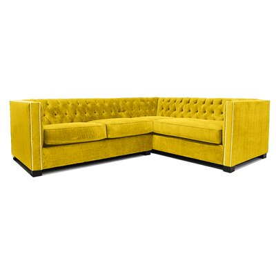 Venecia Sectional Body Fabric: Mustard
