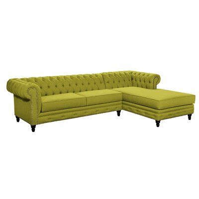 Meagan Sectional Upholstery: Wheatgrass