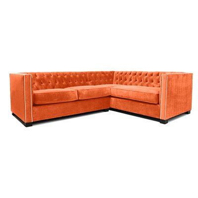 Venecia Sectional Upholstery: Saffron