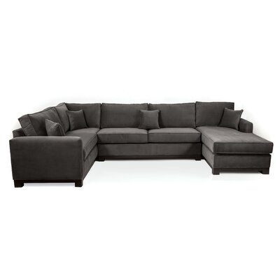 Bruno Sectional Upholstery: Charcoal