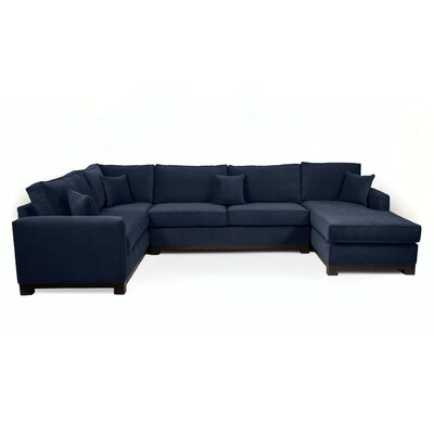 Bruno Sectional Upholstery: Navy