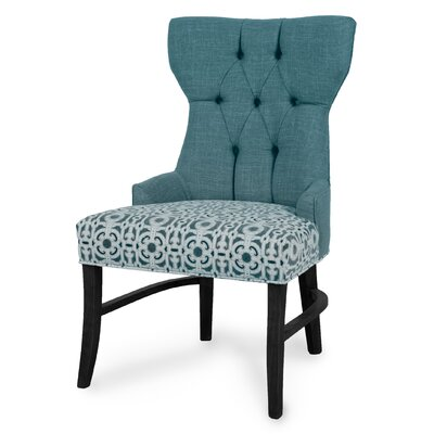 Teresa Side Chair Upholstery: Sea
