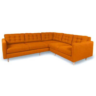 Patrick Sectional Upholstery: Saffron