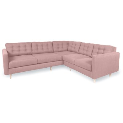 Patrick Sectional Upholstery: Blush