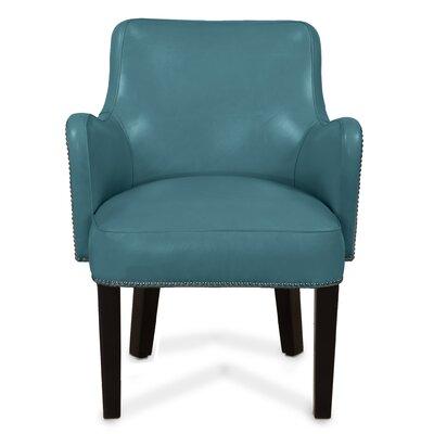 Jamar Arm Chair Upholstery: Azure