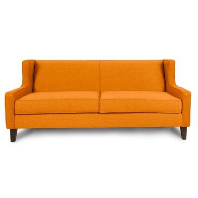 Iman Sofa Upholstery: Saffron