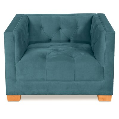 Ersheila Arm Chair Upholstery: Azure