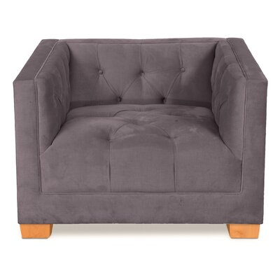 Ersheila Arm Chair Upholstery: Gray